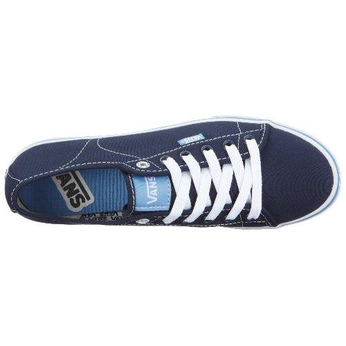 Vans W Ferris Lo Pro, Baskets mode femme Bleu (Navy/White)