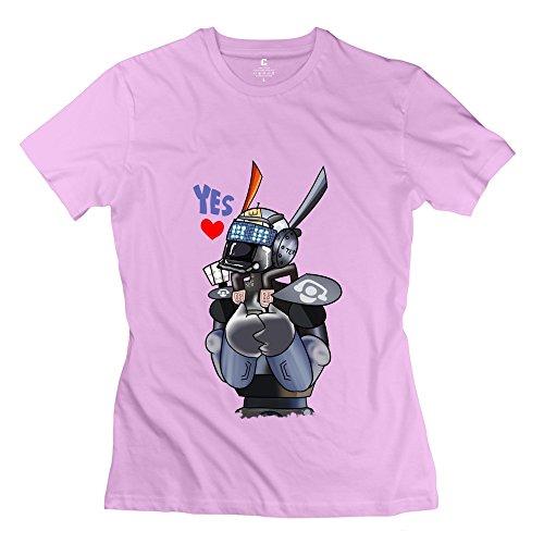 Nana-Custom Tees -  T-shirt - Donna rosa XL