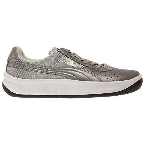 Puma GV Special Reflective Synthétique Baskets Silver Metallic-Black