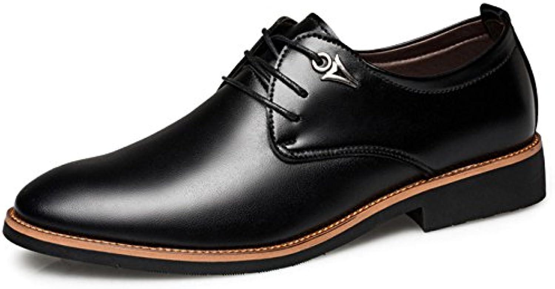 Männer Formale Uniform Schuhe Business Spitzschuh Jugend Casual Arbeit Rutschfeste Atmungsaktive Hochzeit Oxford
