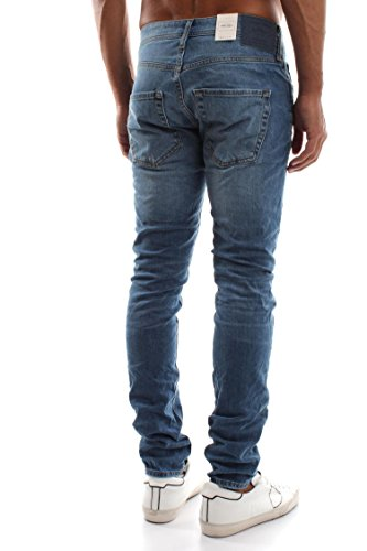 Jack & Jones Herren Slim Fit Jeans Denim Used Look AM078