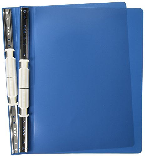 Acco Aufhängen Daten Binder mit ACCOHIDE Bezügen, 30,5x 21,6cm, blau (56133)