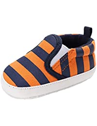 Sharplace 1x Zapatos de Algodón Recién Nacidos Cálido Cómodo Impermeable Uso Diario Regalo Blando - naranja, 12