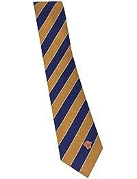 Versace Gold Navy Stripe 100% Silk Men's Tie