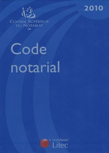 Code notarial