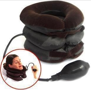 Others Tractors Pneumatic Air Bag 3 Tier Inflatable For Cervical Spine Neck Rest Support Massagers Pillow