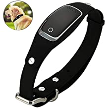 WLDOCA Rastreador GPS para Perros y Gatos- Collar GPS & Monitor de Actividad para Perros