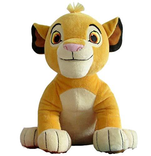 Intervic Peluche muñeco de Felpa Simba El Rey Leon 26 cm Peluche de Animal Suave Adorable Regalo Juguetes para niños y niñas