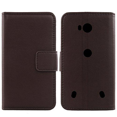 Gukas Design Echt Leder Tasche Für Doogee S60 5.2