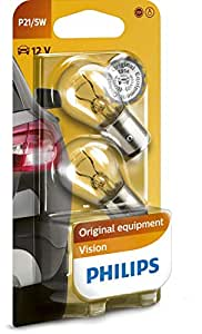 Philips 12499B2 Kugellampe Vision P21/5W