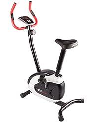 Ultrasport Racer 150 - Bicicleta estática con sensores de pulso de mano