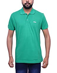 Fila MenS Cotton Polo T-Shirt (Large)