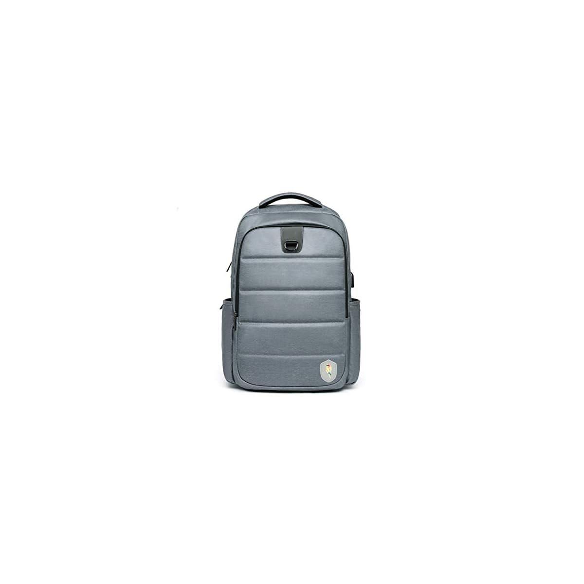 417AE7IL18L. SS1200  - Maod - Mochila para portátil de Gran Capacidad, Resistente al Agua, Elegante, para portátil de 15,6 Pulgadas, con Puerto de Carga USB
