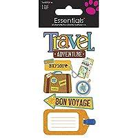 Sandylion Essential Handmade Sticker, Large, Travel Adventure