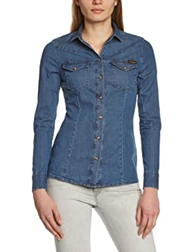 True Religion Damen Hemd Danielle Shirt