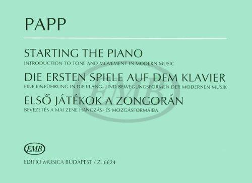 Die Ersten Spiele Auf Dem Klavier Eine E...