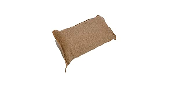 50 Flood Protection Sack Qty Discounts Hessian Sand Bags with Ring Ties 750x325mm