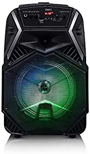 Impex TS-25B 25 W Multimedia Portable Trolley Speaker with Mic & LED L
