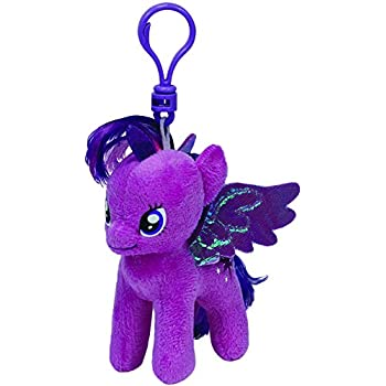 Ty ty41105 - Plush Beanie Baby - My Little Pony - Rainbow Dash Clip ... 9cc159af3d80