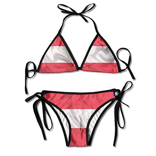Anime Sexy Girl Orange Black Women Bikini Two-Piece Swimsuit