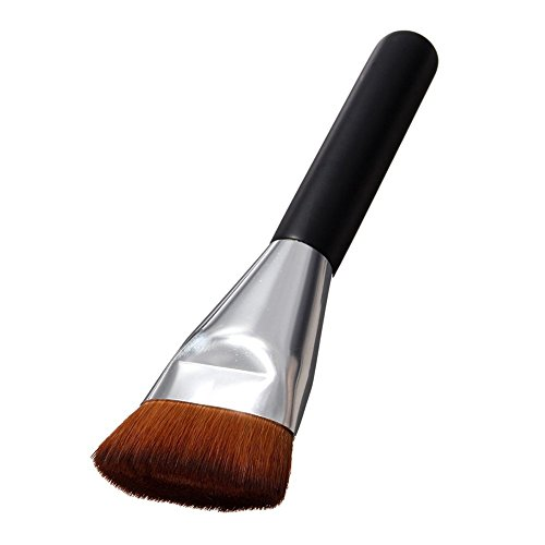 AKAAYUKO 1PCS Pinceau Maquillage Professionnel Pinceaux Makeup Brushes -Marron