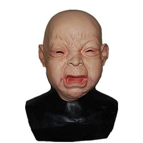 Halloween Party Kostüm Latex Cry Baby Maske Kostüm Maske