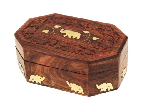 wooden-decorative-jewellery-box-organiser-hand-carved-with-mughal-inspired-elephant-brass-inlay