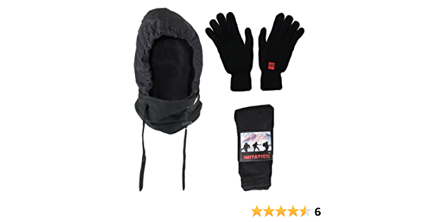 T02 MENS GIFT SET THERMAL WINTER WARM BOOT HIKE SOCKS OUTDOOR GLOVE GIFT SET