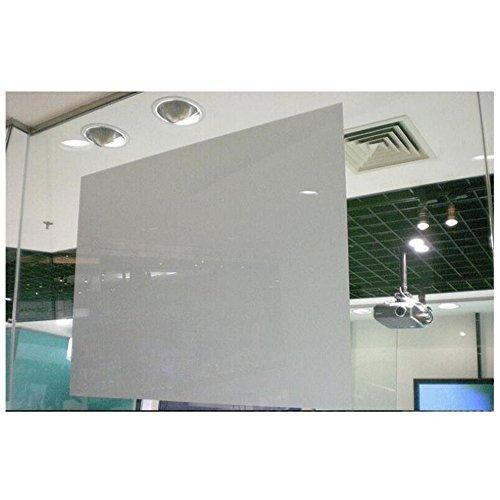 HOHO 50,8x 152,4cm hinten Projektion Film Folie, selbstklebend, Holografische Display Projektor Material Fenster Aufkleber, hellgrau, 20