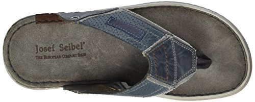 Josef Seibel Paul 39, Tongs homme Bleu - Blau (blue/kombi)