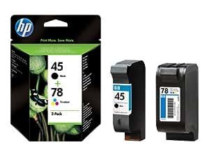 Hewlett Packard - HP 45 78 - Cartouche d'impression - 1 x noir, couleur (cyan, magenta, jaune)