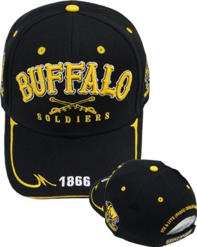 us-army-buffalo-soldiers-cap-hat-crossed-sabres-by-quality-cap-with-front-and-back-embroidery-one-si