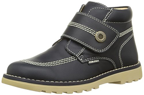 Pablosky 570622, bottines mixte enfant Bleu