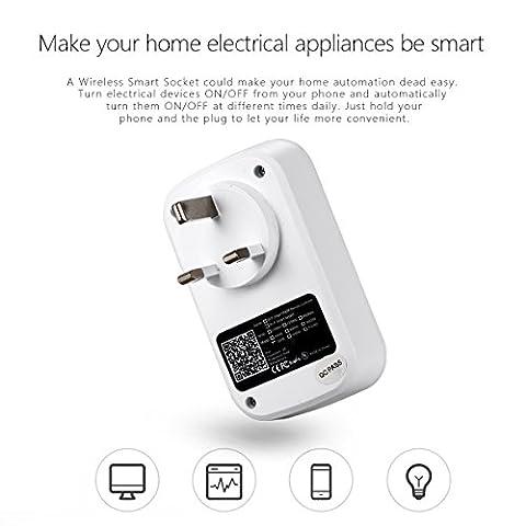 Xcellent Global Smart prise électrique de contrôle à distance et minuteur WiFi automatisation électronique pour ses–depuis tout lieu avec l