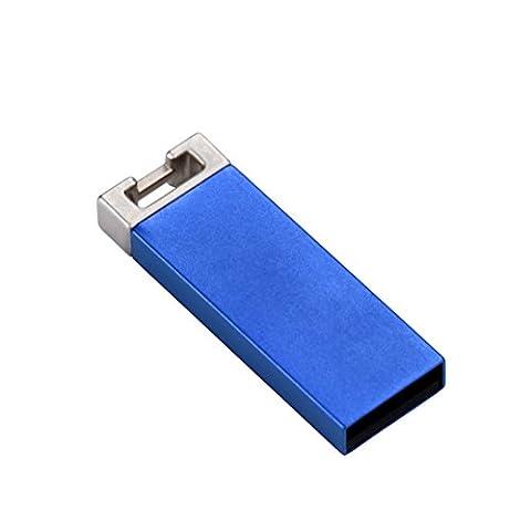 BZLine® Métal Flash Disque-Clé USB 2.0 Capacité : 1, 2,