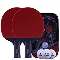 Xianw 3 Star Premium Ping Pong Paddle Professional Match Raqueta De Tenis De Mesa,C