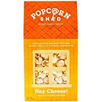 3 x Say Cheese! 55g Gourmet Popcorn Shed's   Cheese Flavoured Popcorn
