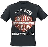Mötley Crüe Shield T-Shirt schwarz L