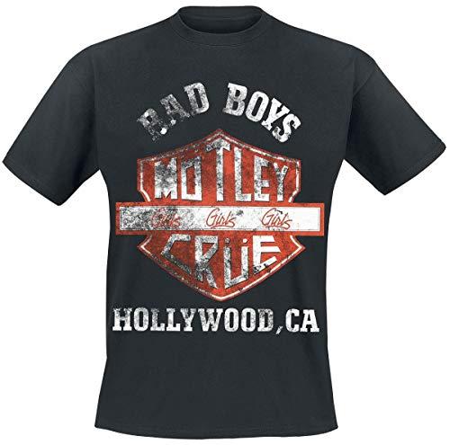 Mötley Crüe Shield T-Shirt schwarz L -