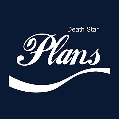 Star Wars Rogue One Death Star Plans Cola Logo Women's Sweatshirt Navy blue