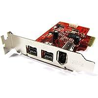 Cablematic - Tarjeta PCI-Express FireWire 800 IEEE 1394b FLEX-ATX (2B+1A)
