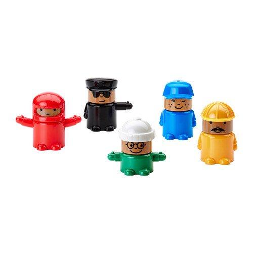 IKEA LILLABO - Figura del juguete / 5 pack / 5 pack