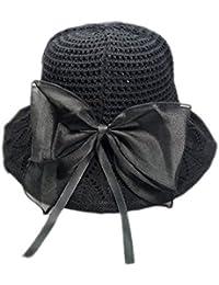 LAMEIDA Sombrero de Sol Plegable del Pescador del Sombrero de la Playa Gorro  de Lino para a99f7a3f465