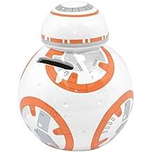Hucha cerámica tridimensional en forma de BB-8 de Star Wars