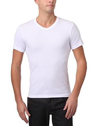 Athena Bio  - T-shirt - Homme - Noir / Blanc - L (taille fabricant : 4)