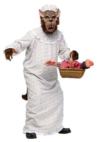 The Big Bad Wolf Costume Fancy Dress