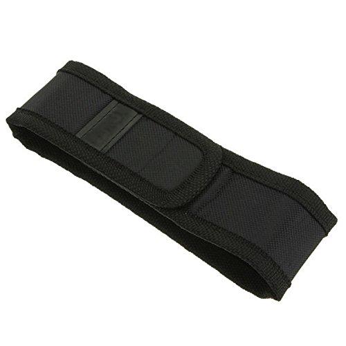 Preisvergleich Produktbild Bluelover B Schwarz Holster Tasche Für Led Taschenlampe 150Mm X 30Mm