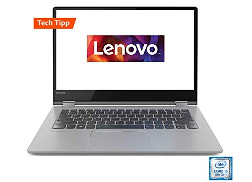 Lenovo Yoga 530 35,6 cm (14,0 Zoll Full HD IPS Touch) Slim Convertible Notebook (Intel Core i5-8250U, 8GB RAM, 512 GB SSD, Intel UHD Grafik 620, Windows 10 Home) schwarz