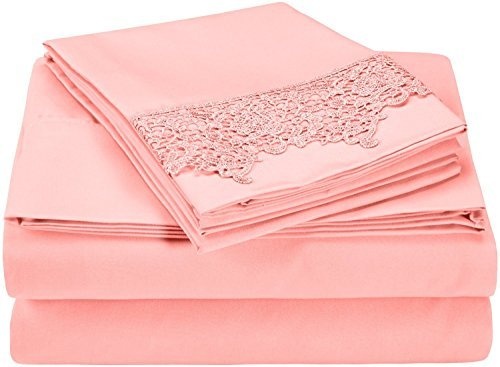 super-soft-light-weight-100-brushed-microfiber-king-wrinkle-resistant-pink-4-piece-sheet-set-with-re