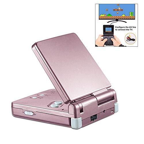 Juan Game Machine Game Console 2.4 Zoll DG-170gbz Mini GB Laptop Konsole Retro für Klassische Spiele Pink eu -